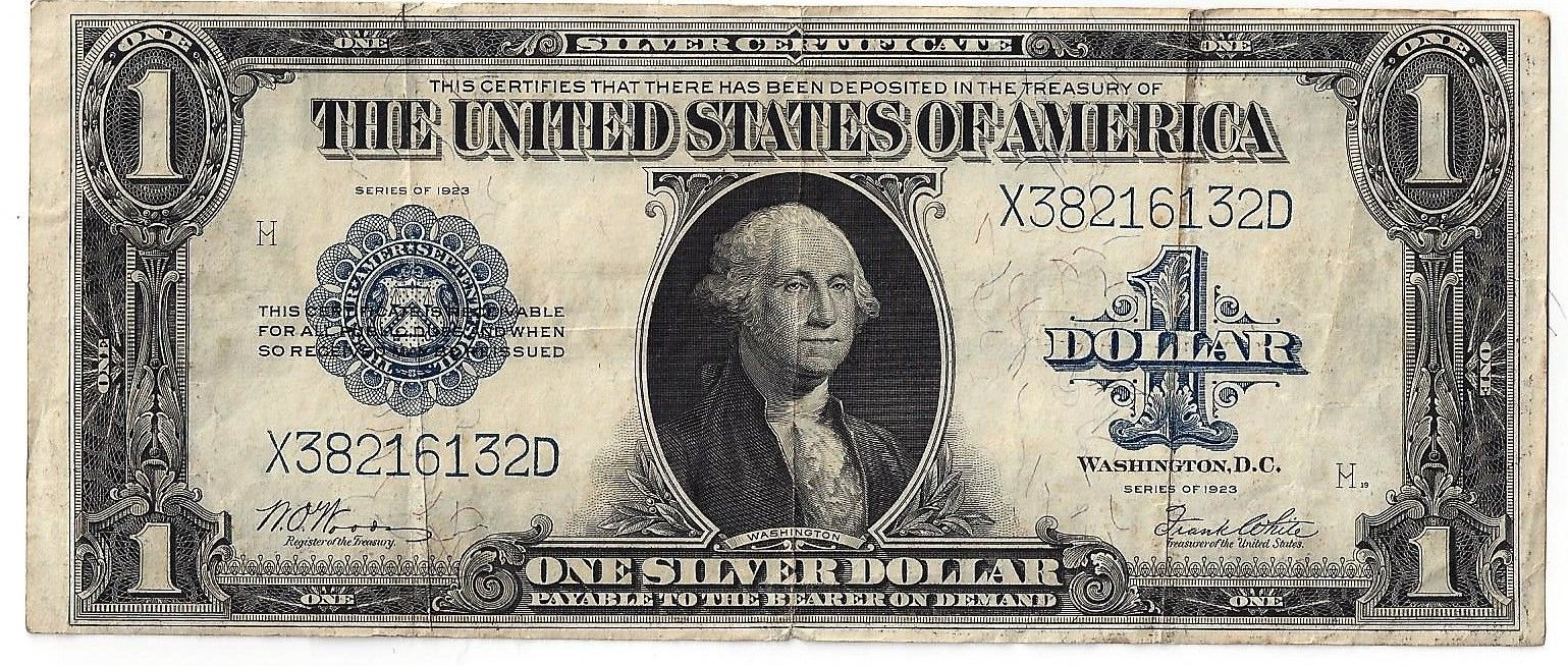 Large Silver Certificates