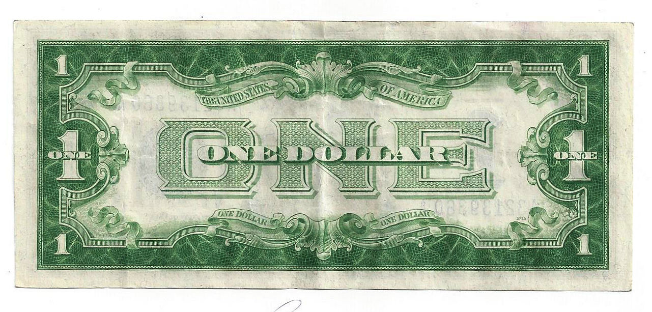 1934 The United States of America One Dollar Silver Certificate