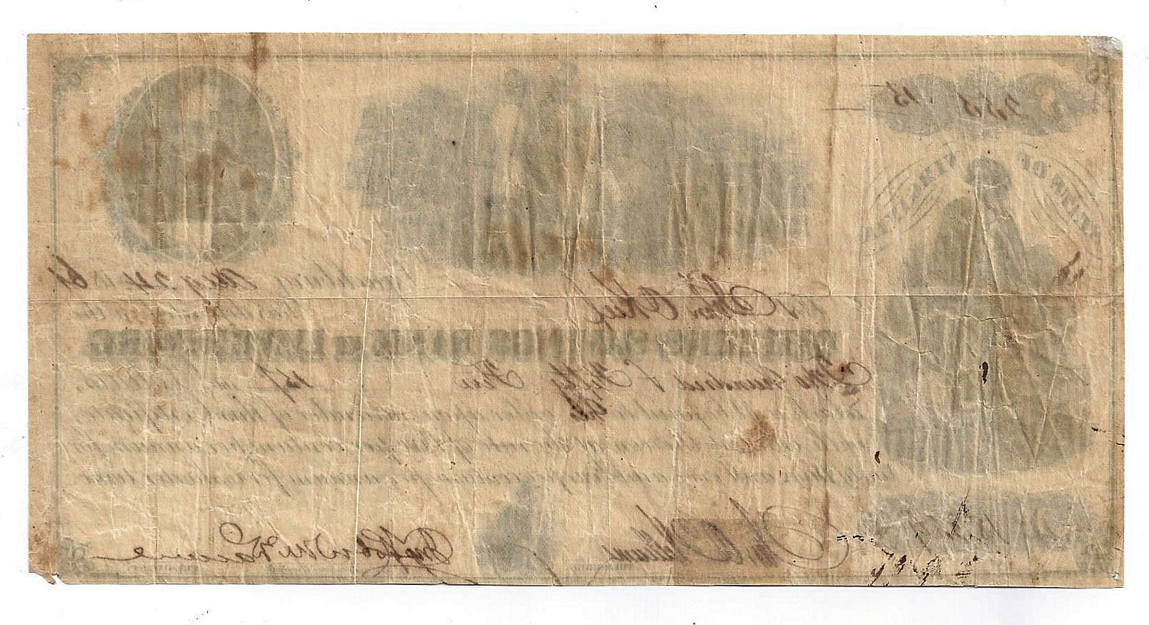 1861 the citizens savings bank at lynchburg certificate of deposit 1betcityfo Images